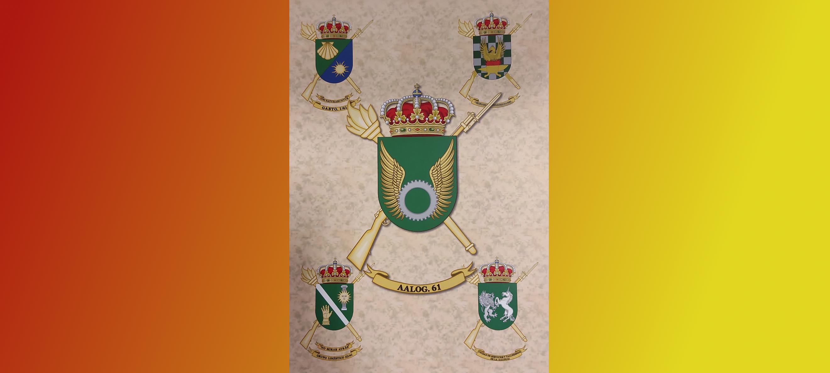 escudo agrupación militar